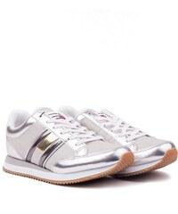 Tommy Hilfiger ezüst tornacipő WMN Casual Retro Sneaker Silver db032c8e56