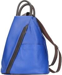 Diva Természetes bőr Sárga Táska cod. S6925-Royal blue 71da389bc2
