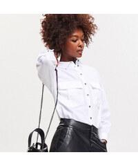 Reserved - Bavlněná košile - Bílá b26de65235