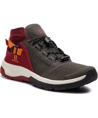Trekingová obuv SALOMON - Techamphibian 4 406809 27 V0 Beluga Russet  Orange Red Dahila 2dcb38fd152