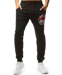 e606570a81b7 Dstreet Čierne dámske teplákové nohavice