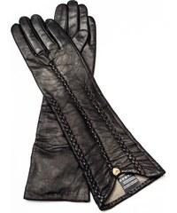 45f83be0a4 Dámské černé kožené rukavice Pride   Dignity New York