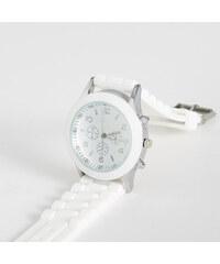 Sinsay - Biele hodinky - Biela 90a5a8bff75