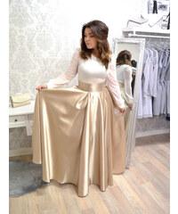 00fd64f84f6 Flove Pariss Kolová Maxi sukně ELLIE - GOLD