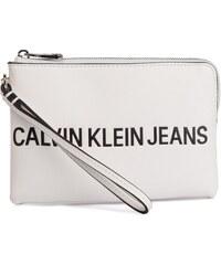 Újdonságok Ingyenes szállítás Kedvezményes kuponok · Táska CALVIN KLEIN  JEANS - Sculpted Logo Mini Wristlet K60K605269 102 40a5c28a87