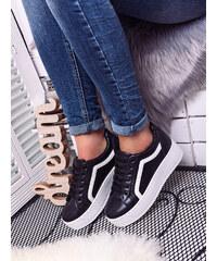 Černobílá zimní dámské boty - Glami.cz 853dd621b6