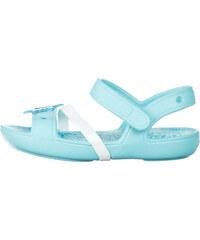 Crocs Lina Frozen Sandále dětské Modrá e96a6930de