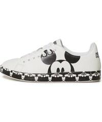 1eb0148ba4e Desigual černo-bílé tenisky Shoes Cosmic Mickey - 36