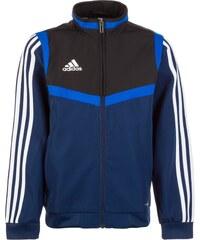 56833bf1d2 ADIDAS PERFORMANCE Sportovní bunda 'Tiro 19' modrá / tmavě modrá / černá /  bílá