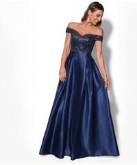 Adria Dámské společenské dlouhé šaty s flitry AURÉLINE b28fa7ccfd