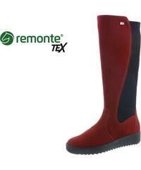 Remonte - Rieker Dámska čižma vysoká zateplená na nízkom podpätku značky  Rieker fb16b071f56