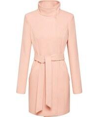 VERO MODA Přechodný kabát  Ava Cala  pastelově růžová f9ee8e8b8f1
