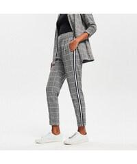 2ce61ca1ba6 Reserved - Kostkované kalhoty - Černý