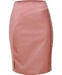 ELEGANCE Dámska ružová sukňa ROSSY XL 16d7c9784e9