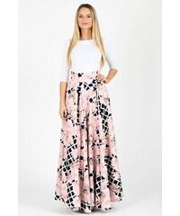 00b3f228592 Flove Maxi sukňa Sakuraska