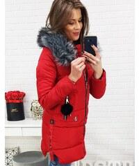 Brand Dámska zimná bunda (ty0499) - červená ty0499 956d1d97bce