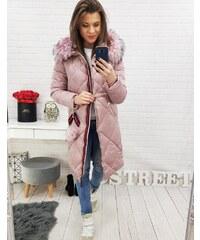Brand Dámska zimná bunda (ty0512) - ružová ty0512 24fa23eddad