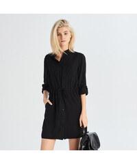 Sinsay - Košilové šaty - Černý 0cee97409a0