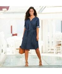 Blancheporte Džínové šaty modrá d3c3a07ddf