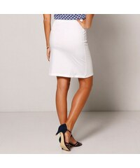 4113f9324f5 Blancheporte Rovná jednobarevná sukně bílá