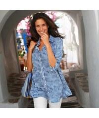 cf26db4211e4 Modré Dámske blúzky a košele z obchodu Blancheporte.sk