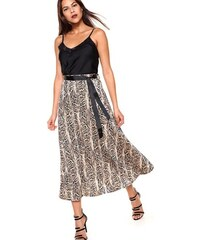 Venca Dlouhá sukně s potiskem hadí kůže potisk e8f509187c