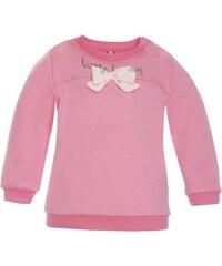 dde40419b1f6 2be3 Dievčenské tričko s mašľou Little lady - ružové
