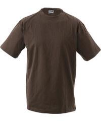 8a745424687 James+Nicholson Pánské základní triko ve vysoké gramáži 180 g m bez bočních  švů