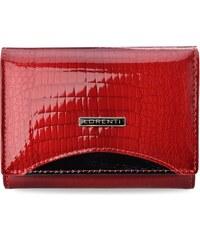 a0a304a53df51 Lakovaná dámská peněženka lorenti s vnitřní peněženkou - červená