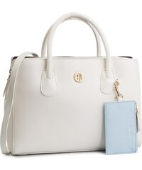 Táska TOMMY HILFIGER - Charming Tommy Med Work Bag AW0AW06487 104 5461552079