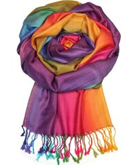 a5ce02da2ad Dalmina Rainbow - elegantní šála