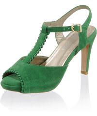 778bde4d54329 Zelené Dámske sandále - Glami.sk
