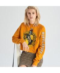 Sinsay - Mikina s kapucí Harry Potter - Žlutá eb97afd298b