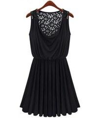 Dámské letní šaty Lomo - černá