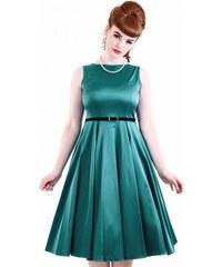 8134132f8635 Tyrkysové společenské šaty Lady V London Audrey