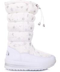 GISICODE Bílé dámské sněhule 67145WH - Glami.cz ff36c83509