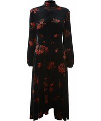 Šaty Biba Rose Print Velvet Dress Womens e3c89d24eb8
