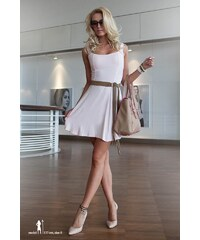 FASARDI Šaty v svetloružovej farbe  XXL e498582c44e