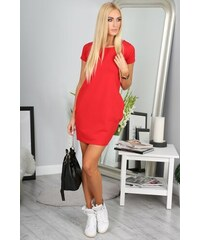 7f4c65f1a6cc FASARDI Červené športové šaty  S