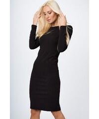 FASARDI Priliehavé šaty s dlhým rukávom 46a85dc7fcd
