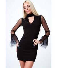FASARDI Štýlové šaty s chokerom 9e2ff3505f2