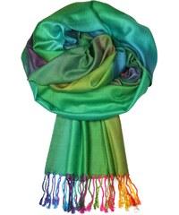 Dalmina Rainbow - elegantní šála de4ee59de2