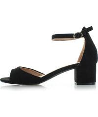 a9b9d3a264 Belle Women Čierne sandále Stacia