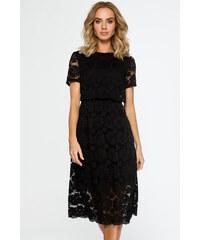 WOMAN. MOE Černé šaty M405 cd184872f5