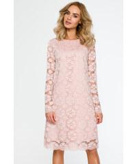 6ee8e1653be6 Moe růžové elegantní šaty - Glami.cz