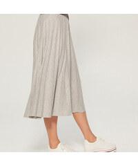 ec7a9205b96 Mohito - Plisovaná sukně s elastickým pásem - Světle šed