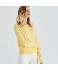 Sinsay - Hosszú ujjú pulóver - Sárga e9660c6199