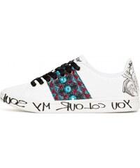 Desigual dámské tenisky Shoes Cosmic Exotic Tro 40 bílá 5c1145ca08