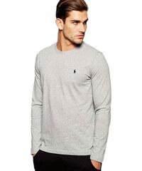 fb8e1f0694a Pánská trička Ralph Lauren s dlouhým rukávem 3 pack - bílá   černá ...