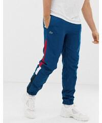 Lacoste side stripe jogging bottoms - Black white red 8378d925a8b